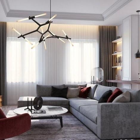 ЖК Собрание, отделка, кухня, комната, квартира, холл, коридор